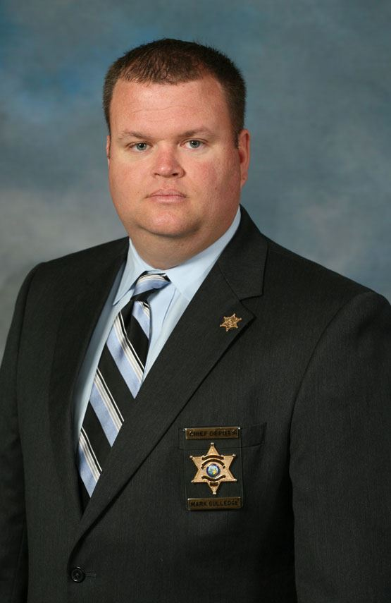 Chief Deputy Mark Gulledge
